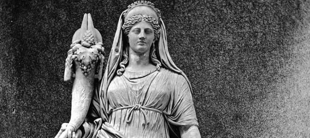 Fortuna, lykkens gudinde i romersk mytologi
