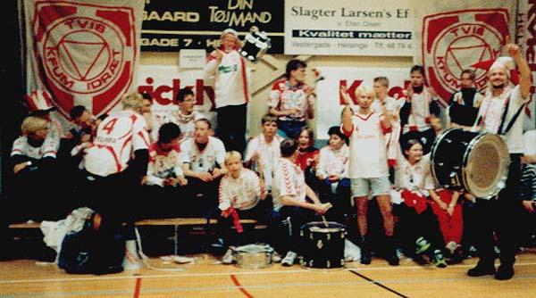 De Rød-hvide Bønder i Helsingehallen, maj 1998.