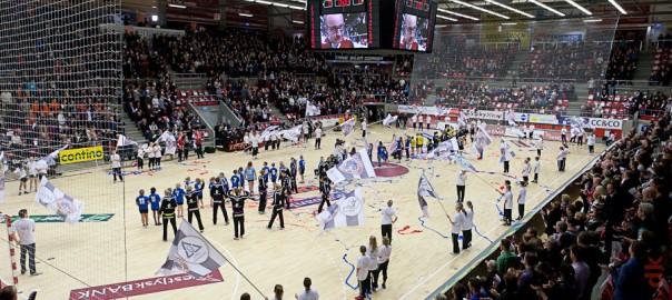 Indvielse af Gråkjær Arena, 2. februar 2011. Foto: hfoto.dk